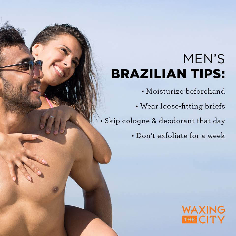 Men's and women's body waxing services in Mount Pleasant, SC