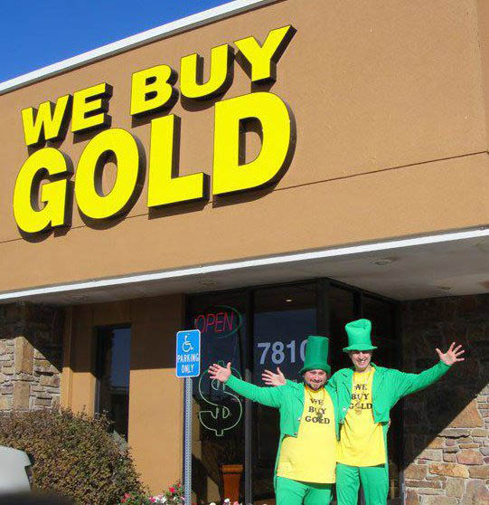 We Buy Gold Store Front