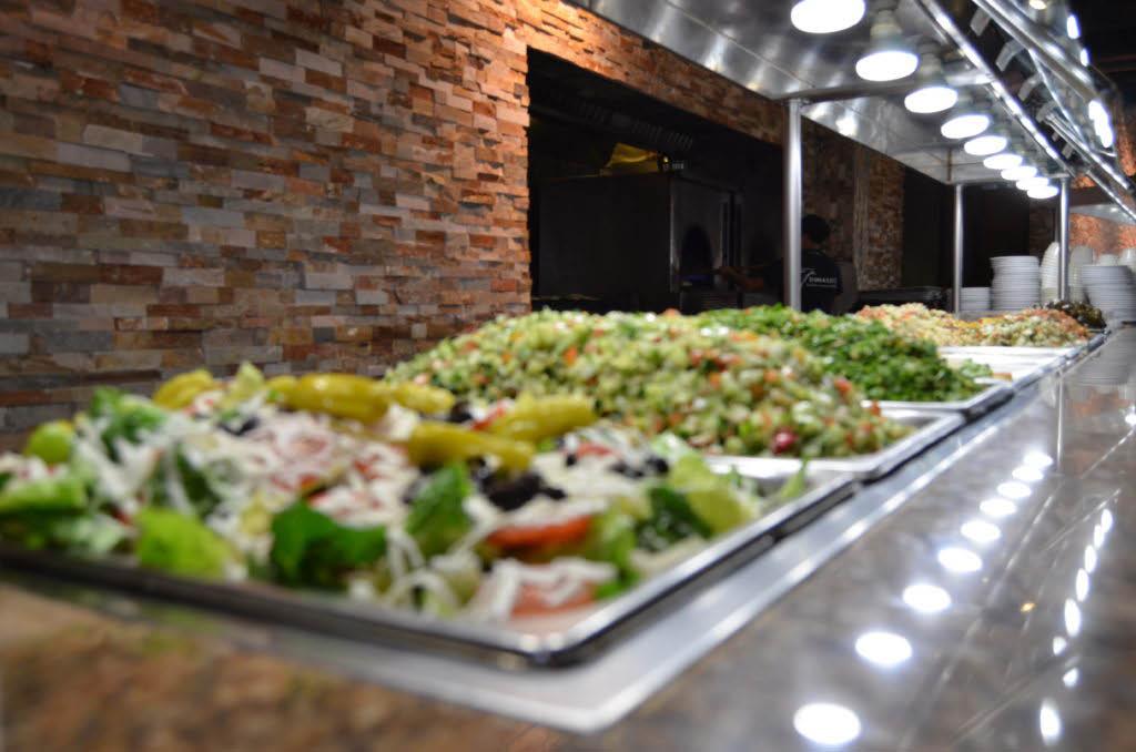 Virtually endless options at Dimassi's Mediterranean Kitchen Dallas