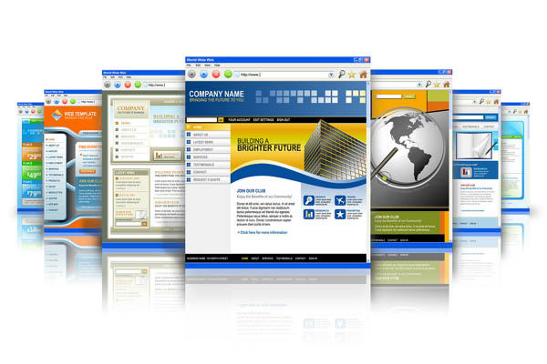 Website design and website development.