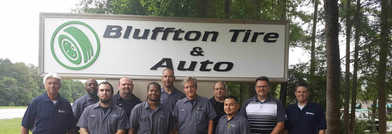 Bluffton Tire & Auto Repair in Bluffton, SC Banner ad