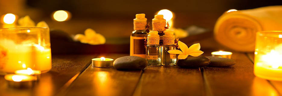 Essential oils used at Wellbeing Massage Studio in Duluth, GA banner