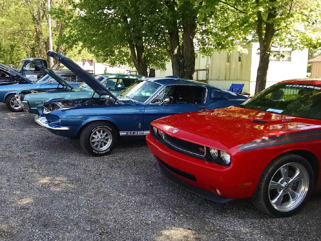 Westerville Automotive car show