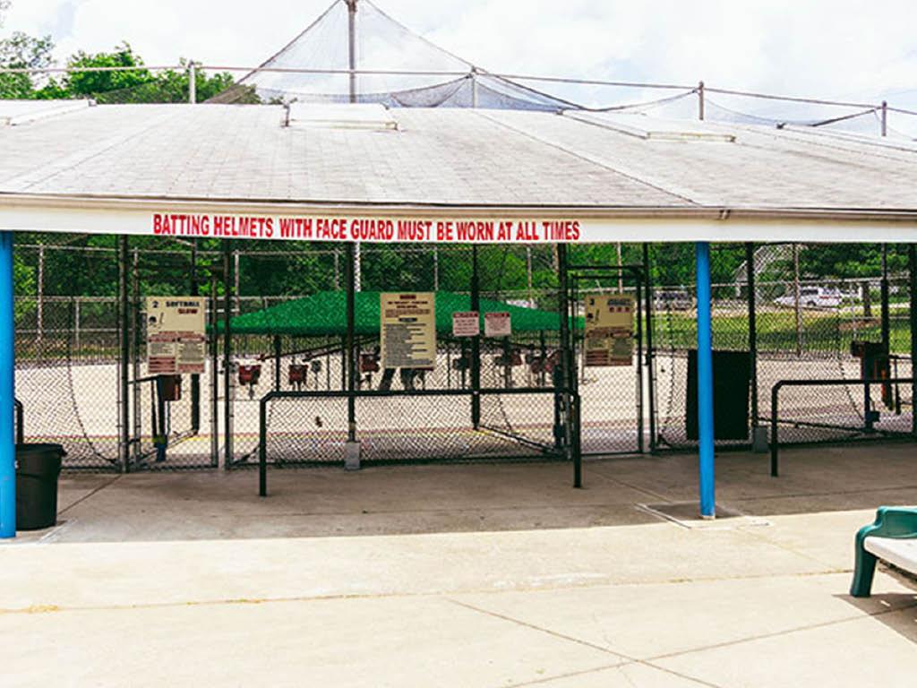 Westerville Golf Center batting cages