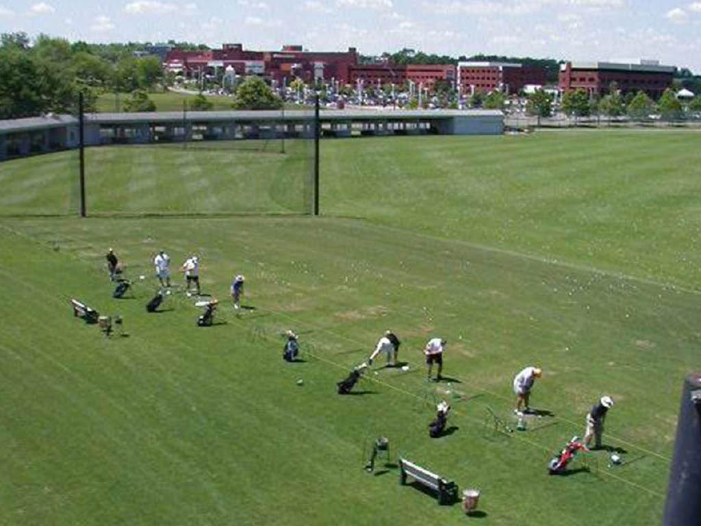 Westerville Golf Center driving range
