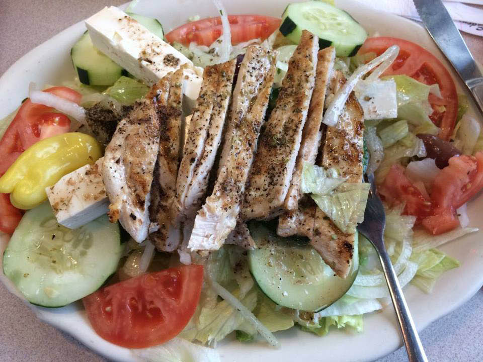 Greek food in Skokie