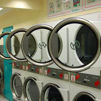 laundromat, clothes, clean, washer, dryer, fold, west park, ocean