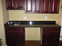 wet bar, installation, cabinet, table top; fredricksburg, va