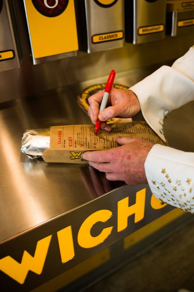WHICH WICH Superior Sandwiches order and draw in Sun Prairie