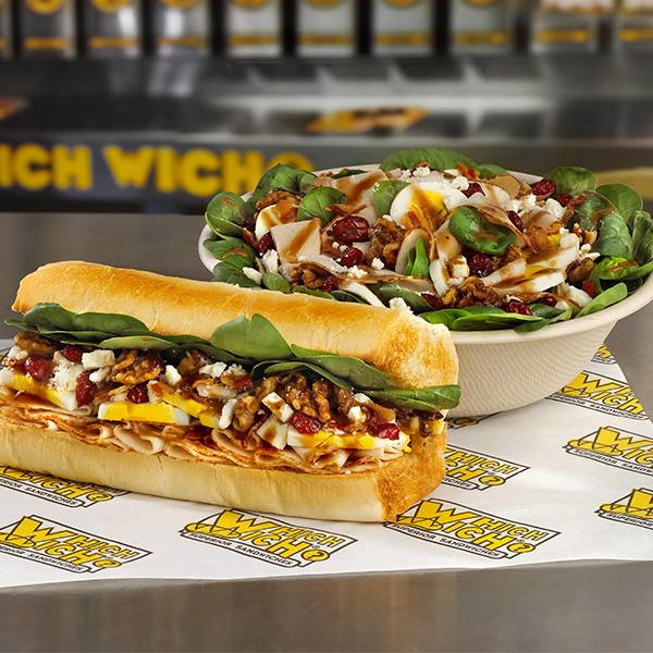 WHICH WICH Superior Sandwiches healthy options