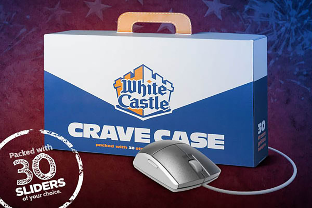 White Castle crave case.