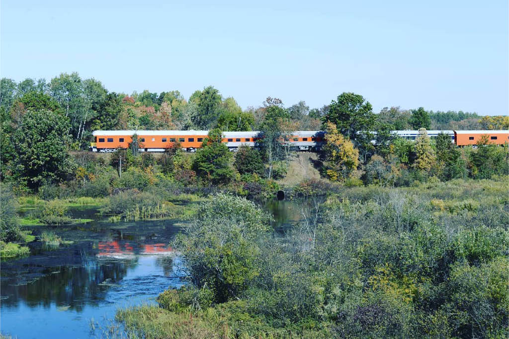 WI Great Northern Train Rides Spooner