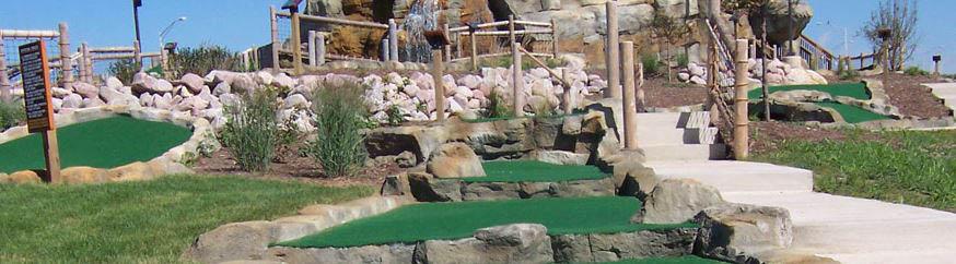 Miniature golf course in Bolingbrook, IL.