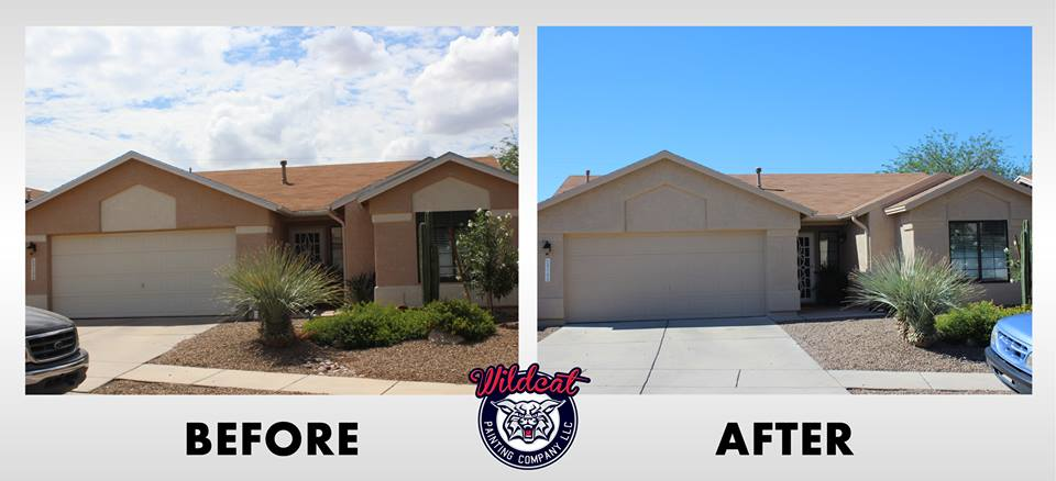 House painting in South Tucson