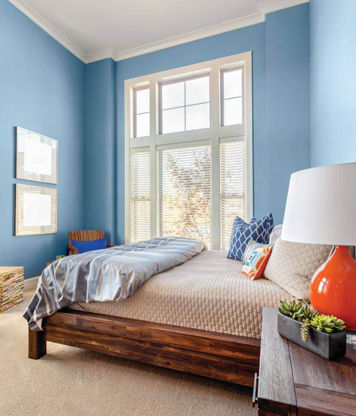 beautiful bedroom casement windows by Window World