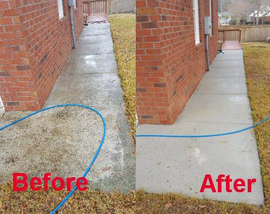 Pressure washing services near Goose Creek, SC