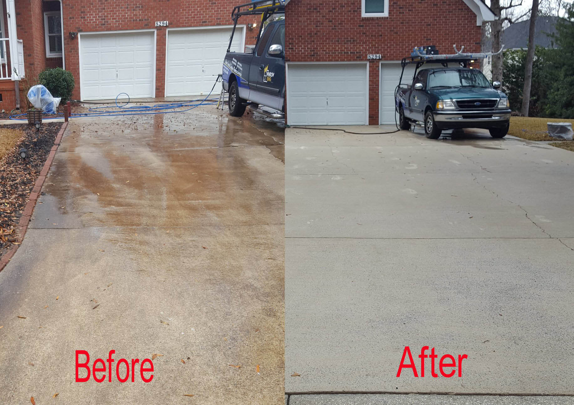 Pressure washing, cleaning services near James Island