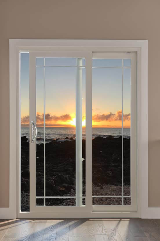 Sliding glass patio doors by Window World
