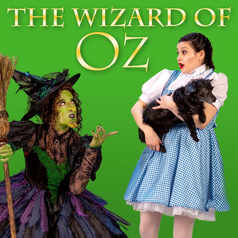 the wizard of oz live production at american midwest ballet in omaha, nebraska