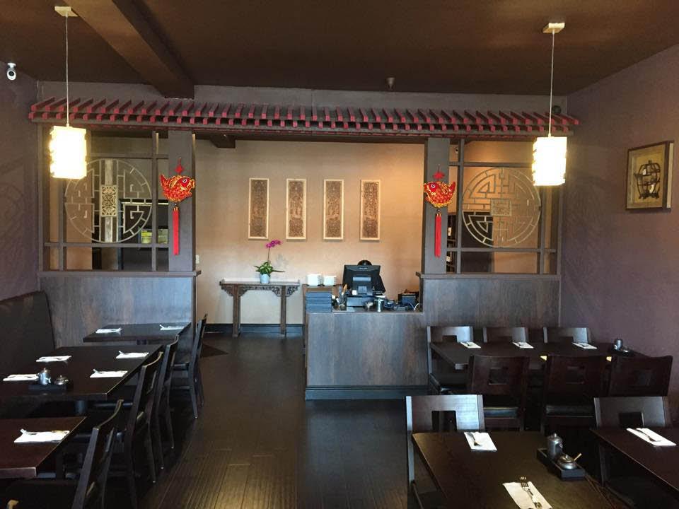 Woking in San Rafael beautiful interior for dine in