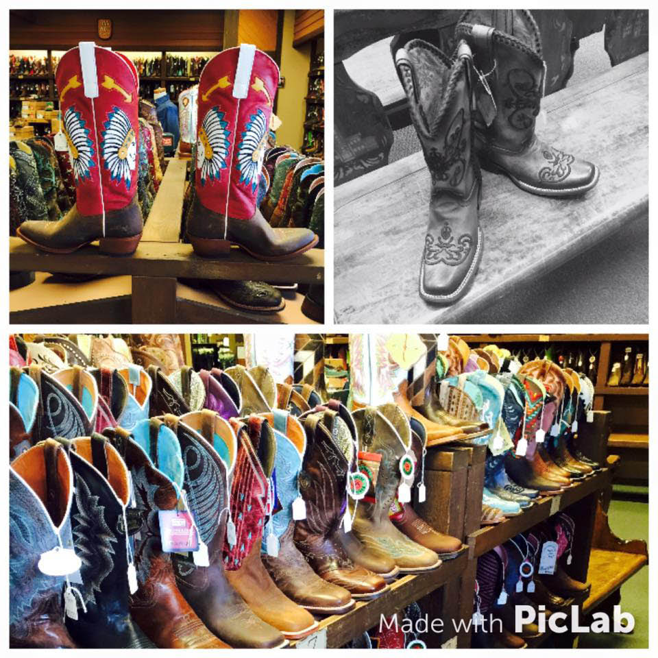 Check out our wide selection of boots from Macie Bean to Corral to complete your outfits this fall.