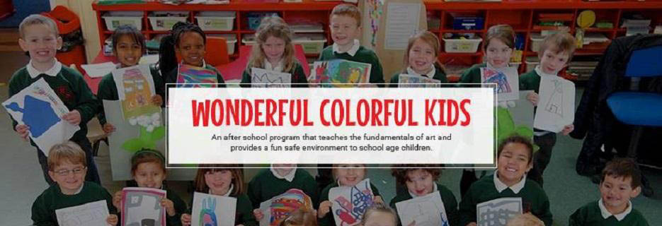 wonderful colorful kids,kids,day care,child care,day camp,art,crafts for kids