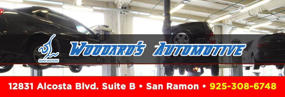 Woodard's Automotive in San Ramon, CA  banner ad
