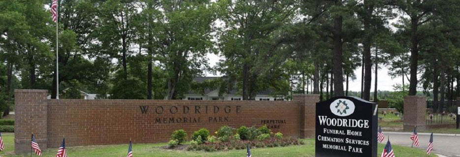 Woodridge Memorial Park in Lexington, SC Banner Ad