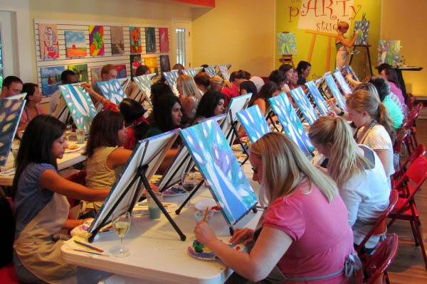 Worthington Parks and Recreation Center art classes.