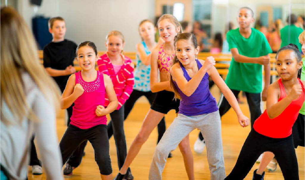 exercise programs for kids; groups fitness for young people; Police Athletic League in DuBois