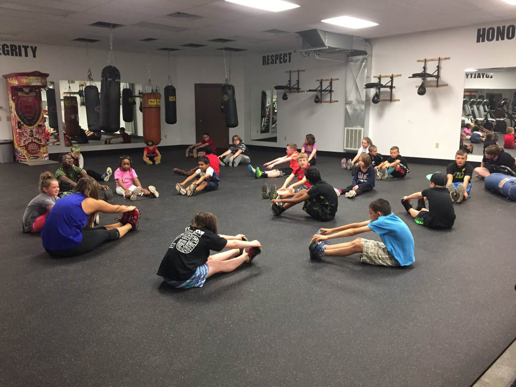 Fitness classes for youth; after school programs in Western PA
