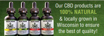 Natural and local products at CBD Waukesha Wellness