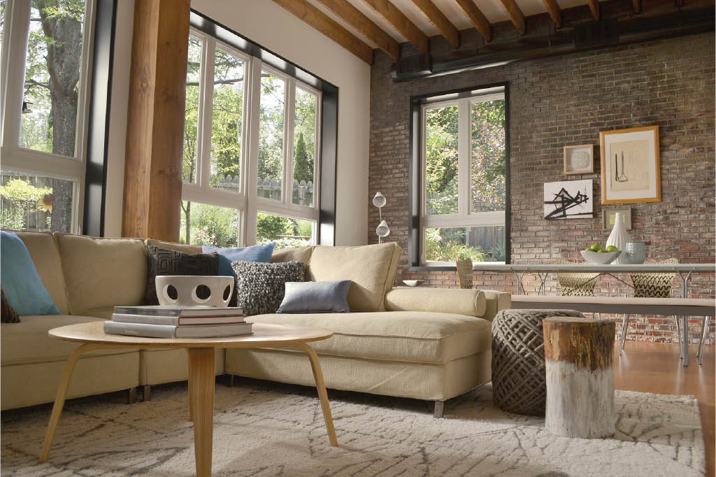 home with rustic decor and accents in CA