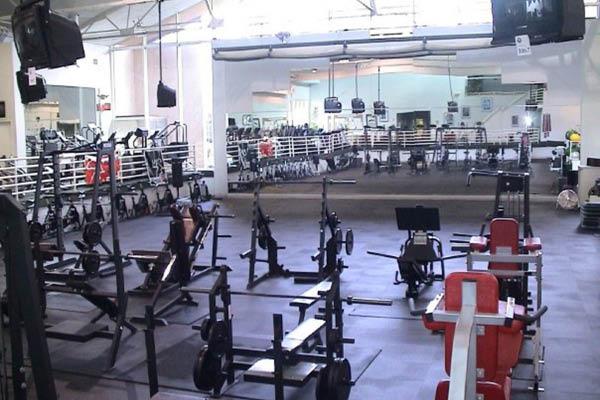 Wyandotte Athletic Club workout room