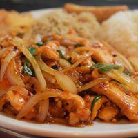 dish at Ying Cafe in Watauga TX