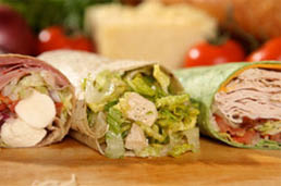Fresh and Delicious Ynot Wraps Made To Order