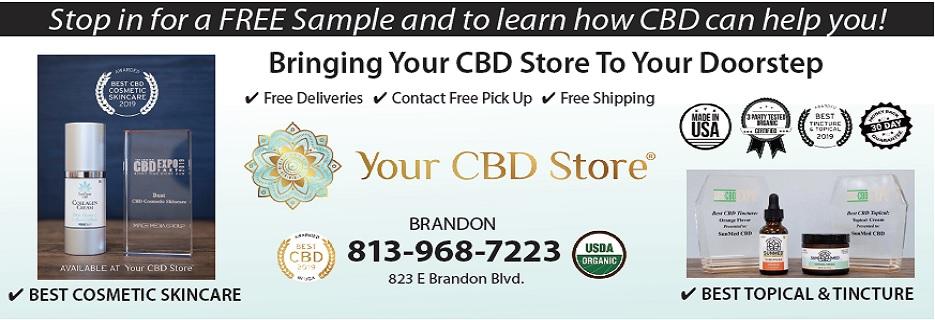 Your CBD Store in Brandon, Florida banner