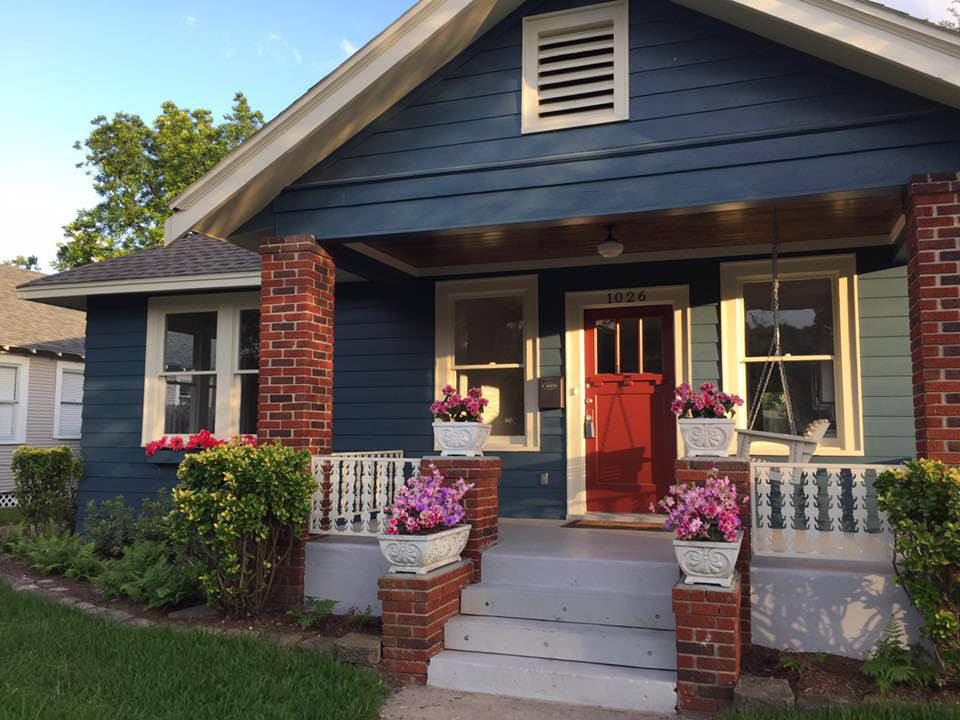 After photo of exterior painting