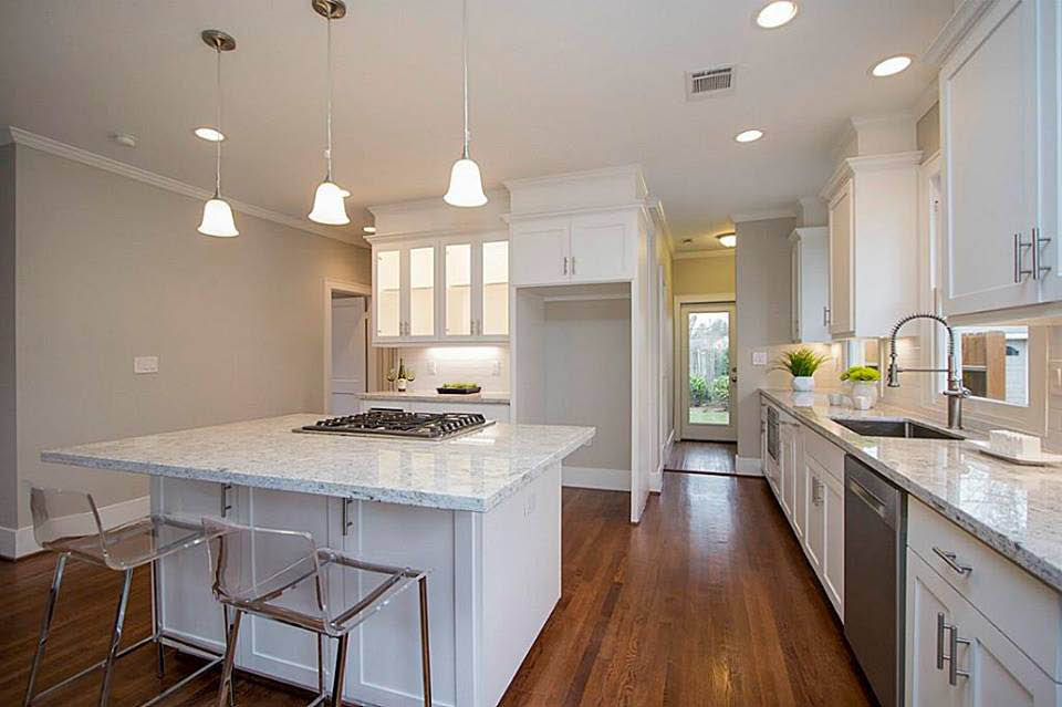 Remodeled kitchen is now modernized