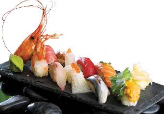 shrimp sushi platter; hibachi; teriyaki; Japanese restaurants Sarasota