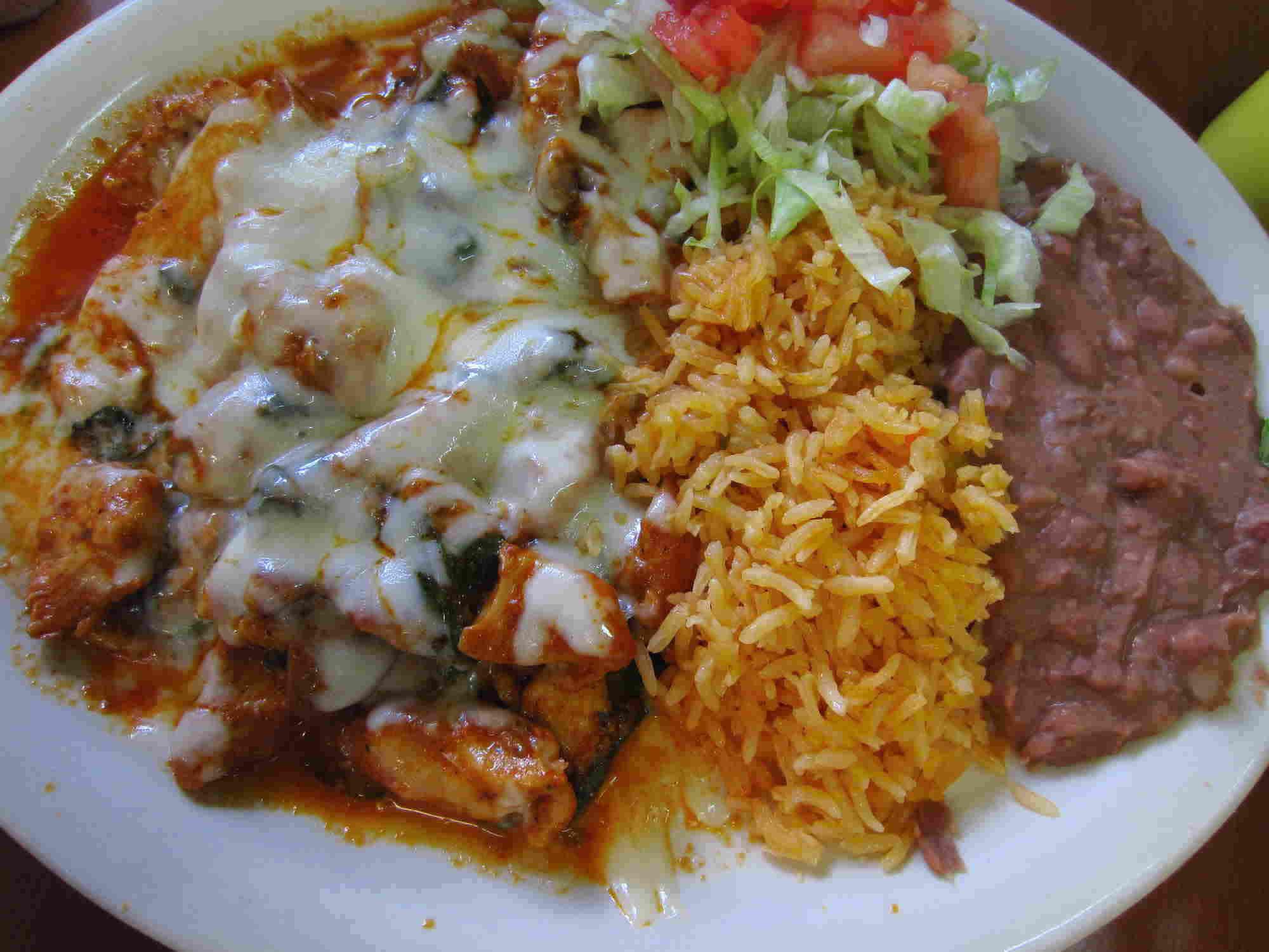 Zama Mexican Cuisine entrees in Marietta, GA