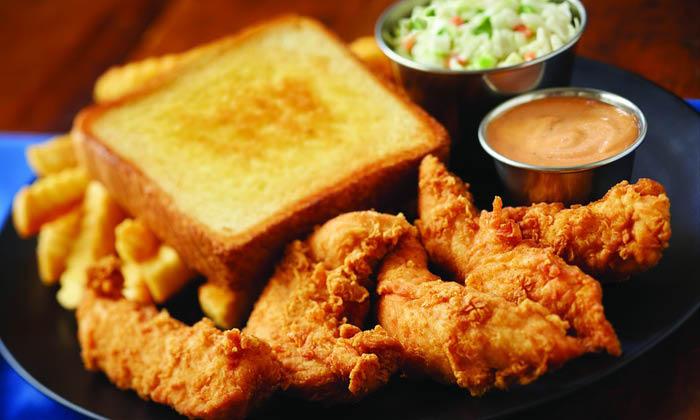 tenders bread dip chicken
