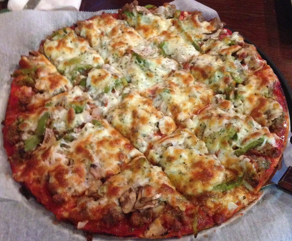 Dine on classic pizzas in Darien & Westmont, IL.