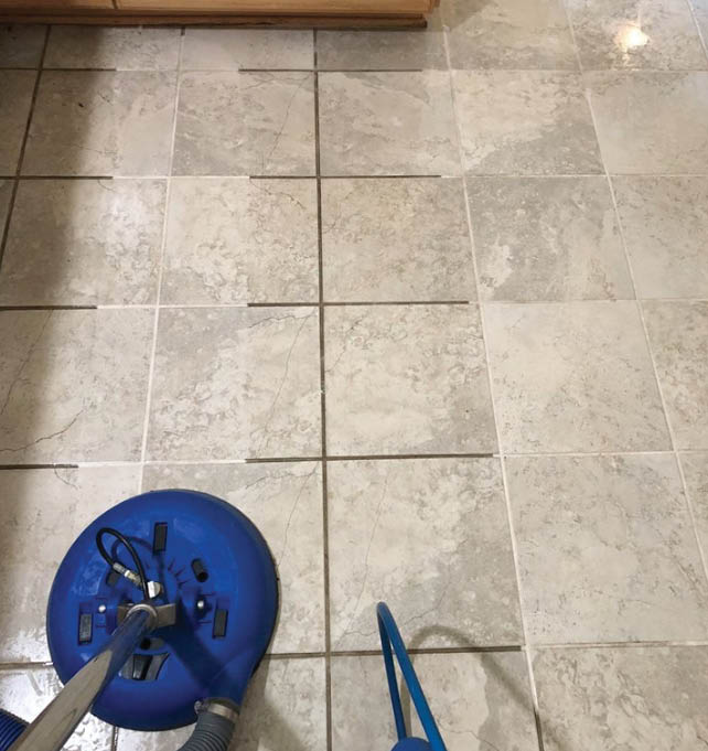 cleaned flooring; tile cleaning; grout cleaning in Raleigh, NC