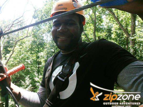 ZipZone Outdoor Adventures zipline tour