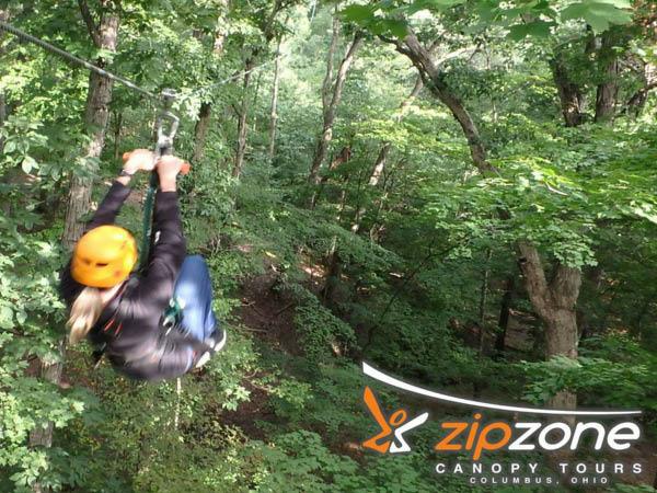 ZipZone Outdoor Adventures zip line canopy tour