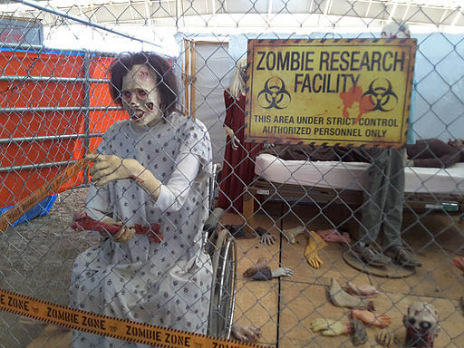 Our Creeptown USA Zombie Research Facility