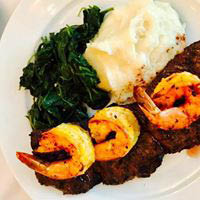 seafood entrees; shrimp dinners; diners in Long Island