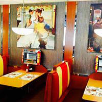 diners; classic diner booths