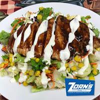 salads; chicken salad